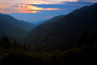 Early Sunset in the Smokies