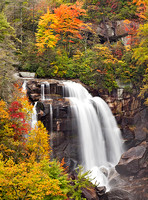 Whitewater Falls, Upper Portion